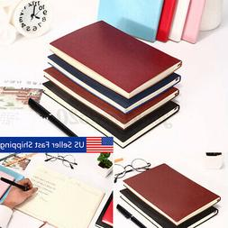 100 Page Soft Cover PU Leather Notebook Writing Journal Line