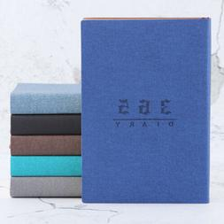 """2020 """"365 Days"""" Faux Leather Journals Notebook Year Planne"""