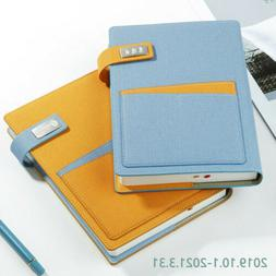 2020 A5 Leather Vintage Journal Notebook Lined Paper Diary P