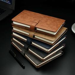 A5 Business Leather Cover Notebook Journals Vintage Writing