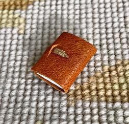Pat Tyler Artist Made Handcrafted Leather Journal Opening Bo