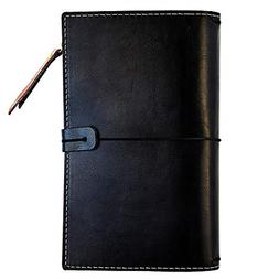B5 Travelers Notebook Refillable Journal Blank Pages Faux Le