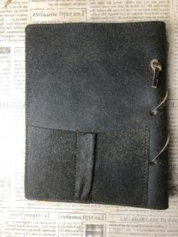 Barnes and Noble Soft Brown Leather  Pickets  Journal