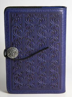 OBERON DESIGN Beardsley Orchid Leather Purple Journal Cover