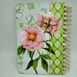 C.R Gibson 160 Lined Pages Personal Journal Floral Notebook