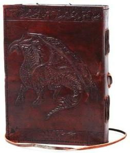 CELTIC DRAGON Blank Page BOOK Handcrafted Leather Writing Un