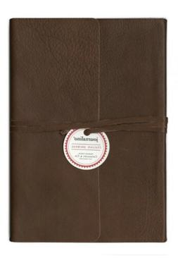Cavallini And Co.-Small Slim Leather Journal  -Papyrus-