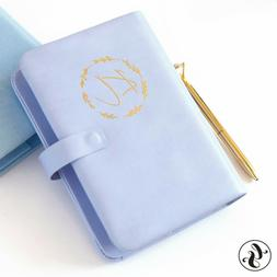 Purse Size Planner 2021 Monthly Daily Calendar Happy Leather