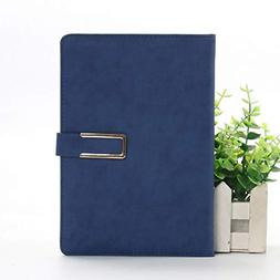 Diary Notebook Lined Pages Writing Journal with Magnetic Har