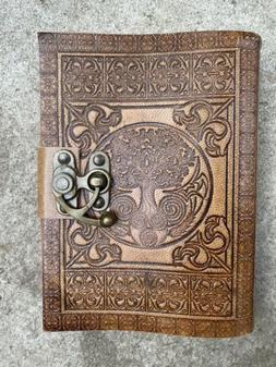 Dream Keeper Tree of Life Leather Journal 5x7 with Latch NEW