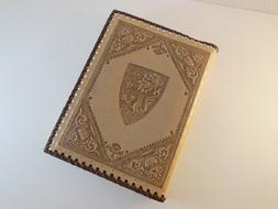 Embossed Leather Journal Book Medici Lions Barnes & Noble NO