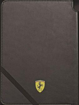 Cross Ferrari Journal, Black Leather, 160 Lined Pages, Brand
