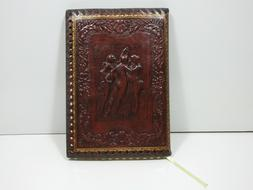 Fiorentina 3 Graces Refillable Italian Leather Journal Brown