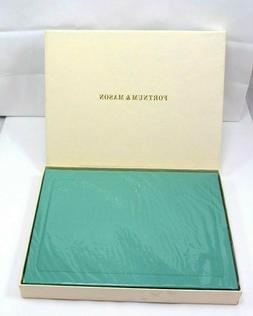 "Fortnum & Mason Morocco Leather 9"" Journal Hardcover Lined P"