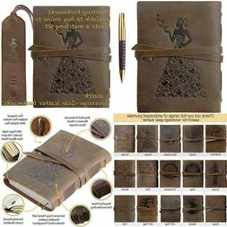 Genuine Leather Journal For Women To Write In Travel Gift No