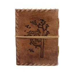 Handmade Leather Journals Blank Vintage Book For Students, a
