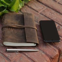 Heart Leather Journal for Women - Handmade Leather Bound Jou