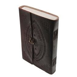 Indra FairTrade Hefty Embos Leather Journal Diary Journal Sk
