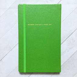 """Kate Spade Journal Large Notebook 8.25"""" Faux Leather Designe"""