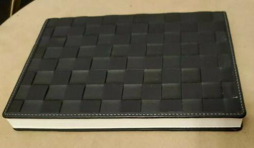 PAPYRUS Black Basket Journal 112 Lined NEW