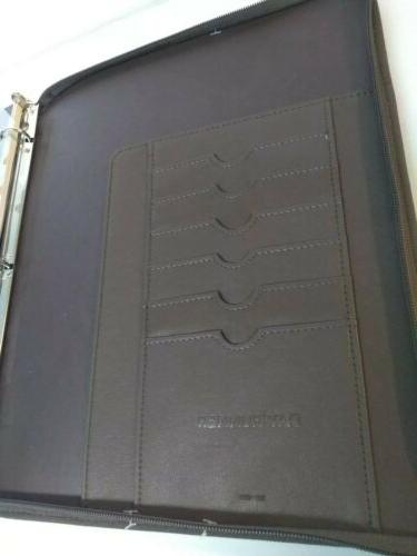 Day Planner Zippered Diary Note