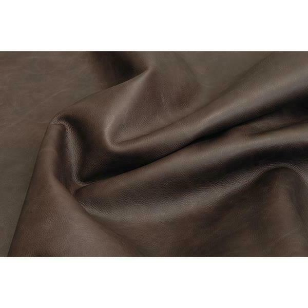 chocolate cowhide grain leather hide for journals