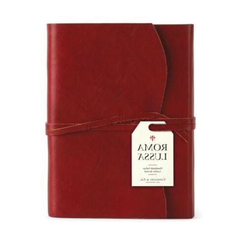 Cavallini Co. Small Leather Journal