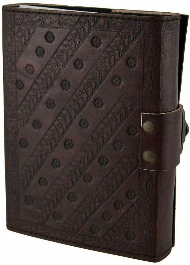 Embossed Pages Unlined Clasp Gift