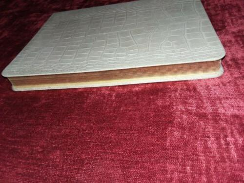PAPYRUS Embossed Leather Journal Book in Bookmark