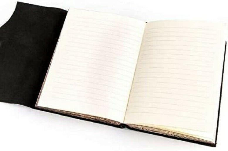 Papyrus Leather Journal Notebook Diary