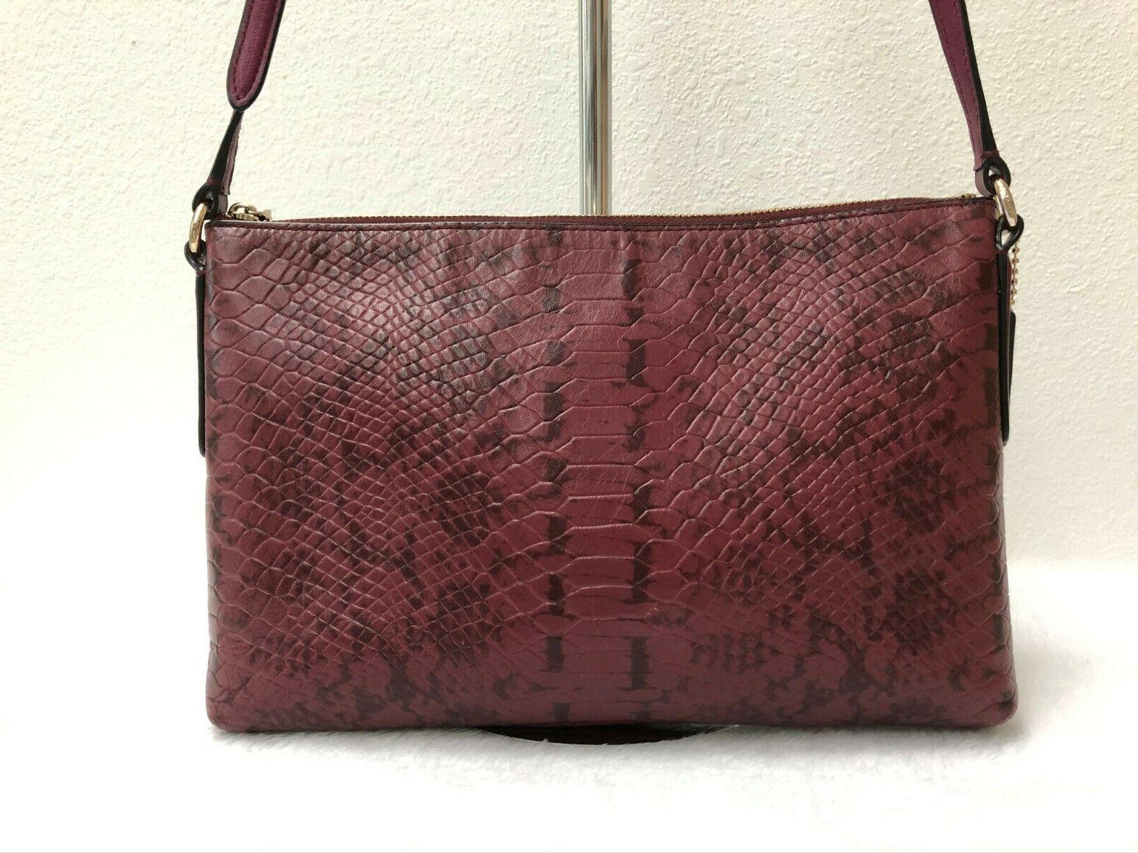 COACH JOURNAL Bag Color-block Embossed style 37119