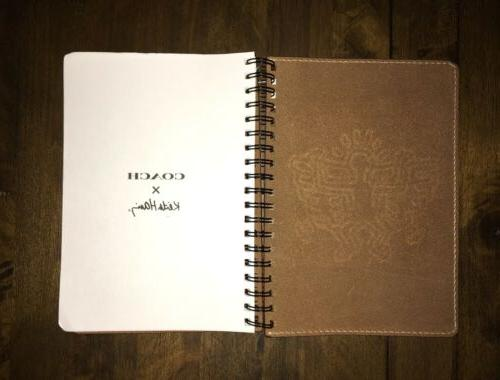KEITH HARING x COACH~LEATHER JOURNAL~SOLD OUT art note