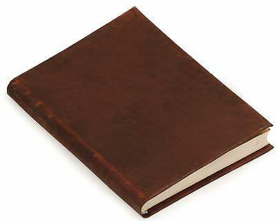 large genuine leather journal with 120 blank