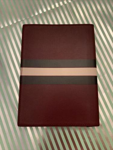 leather journal f55936 burgundy color multi 3