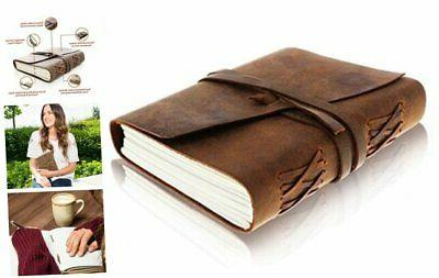 leather journal writing notebook antique handmade leather