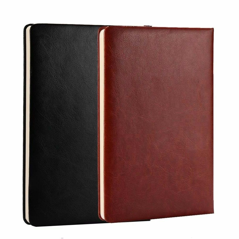 leather notebook journal diary writing paper pocket