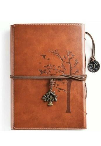 lined refillable vintage writing journal for women