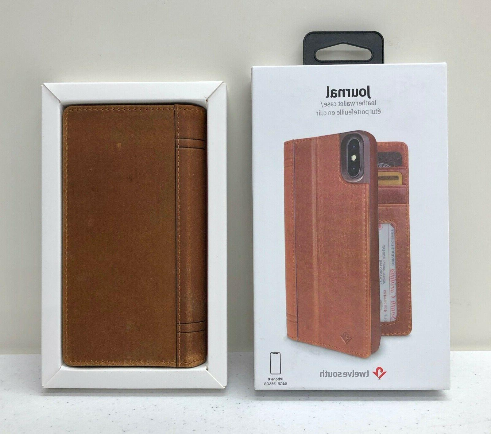 new journal leather wallet phone case shell