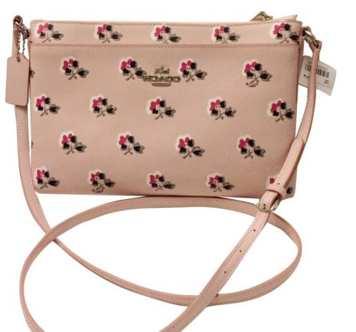 nwt 53358 journal crossbody in floral printed
