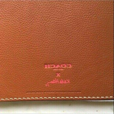 NWT Coach With Brown & Pink Leather Sketch