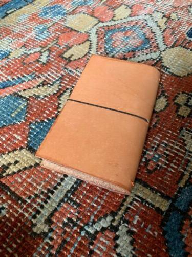 pocket travelers notebook leather journal cover