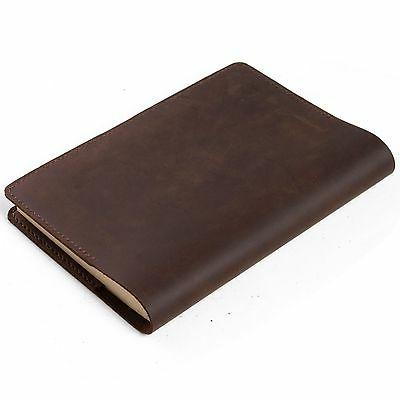simple classic leather journal refillable a5 notebook
