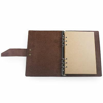 Ancicraft Simple Leather Journal With Strap A5