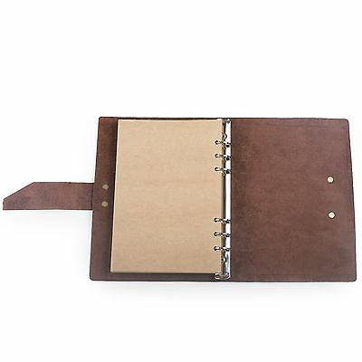 Leather Journal With Strap A5 Binder