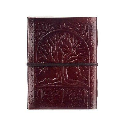 tree of life leather journal 125 unlined