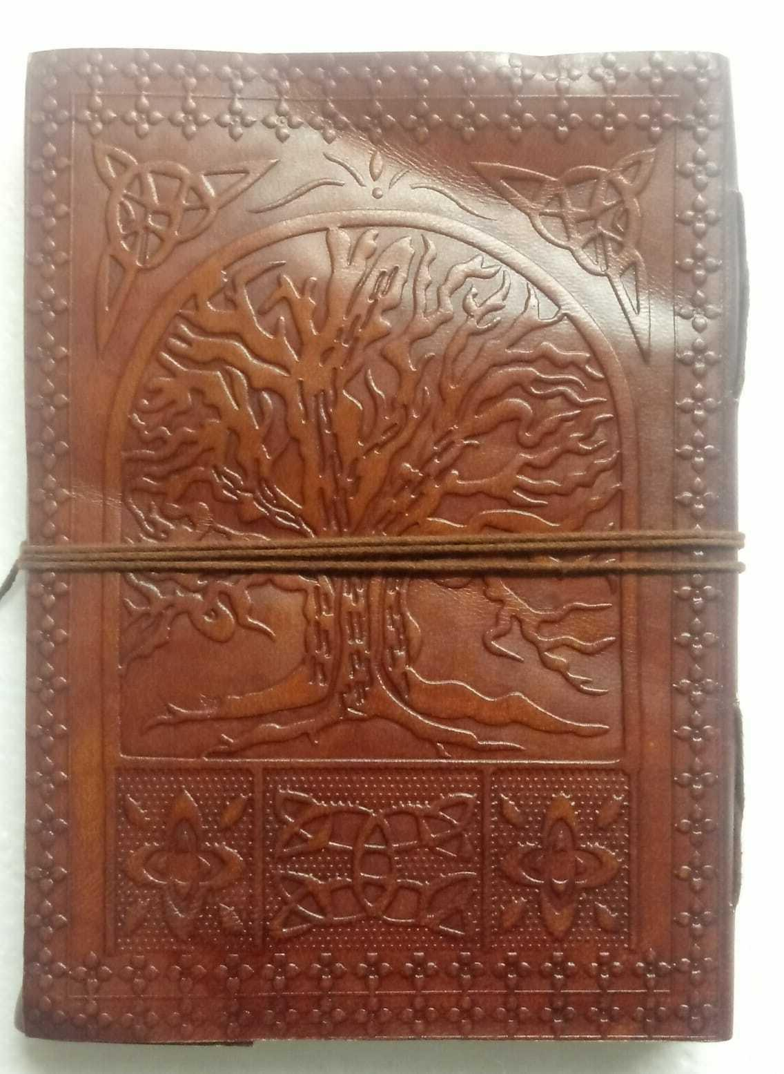 tree of life leather journals for men
