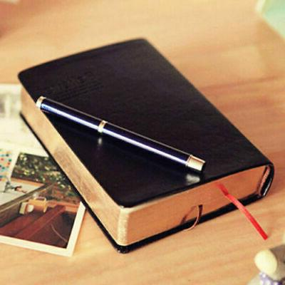 us vintage thick blank paper notebook notepad