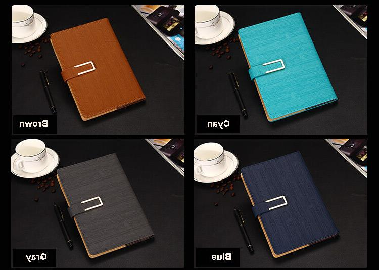 Writing Journal Leather Lined Diary Magnetic