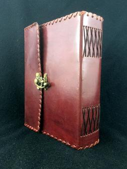 Large Handmade Leather Journal Diary Sketchbook - 400 Pages