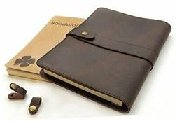 Le Vent Refillable Leather Journal for Men and Women – 2 B